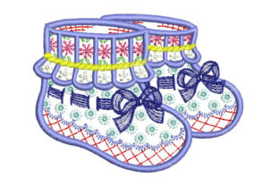 Baby Stocking Babies & Kids Embroidery Design By Embroiderypacks