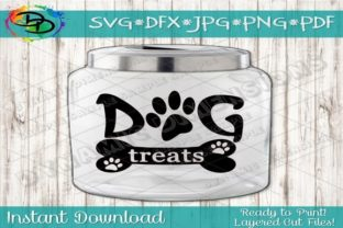Print on Demand: Dog Treats Graphic Crafts By dynamicdimensions