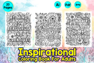 Inspiration Quotes Twenty Coloring Pages Graphic Coloring Pages & Books By Creative Artist