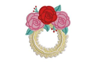 Prom Corsage Graduation Embroidery Design By Embroidery Designs