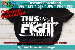Print on Demand: This is How I Fight My Battles Graphic Crafts By dynamicdimensions
