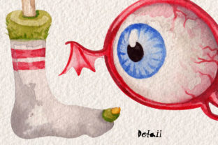 Watercolor Monster Alphabet Collection - 3