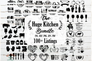 Kitchen, Wine and BBQ Bundle Graphic Crafts By redearth and gumtrees