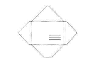 Envelope Template Designs & Drawings Craft Cut File By Creative Fabrica Crafts