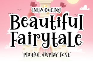Print on Demand: Beautiful Fairytale Display Font By Keithzo (7NTypes)