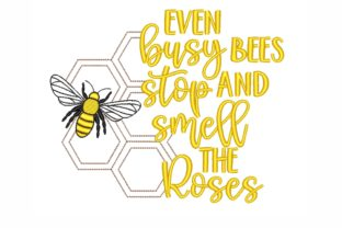 Bee Inspirational Embroidery Design By SonyaEmbroideryStore