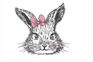 Bunny Easter Embroidery Design By NinoEmbroidery