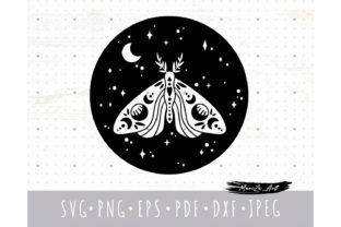 Celestial Space Butterfly SVG File Graphic Illustrations By MySpaceGarden