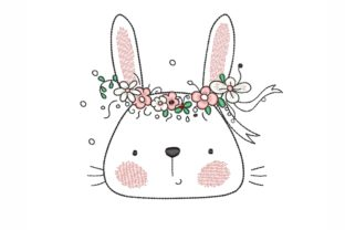 Easter Bunny Easter Embroidery Design By NinoEmbroidery