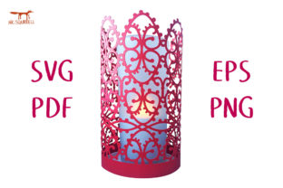 Eastern Lantern SVG Cut File Graphic 3D SVG By Nic Squirrell