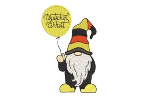 Print on Demand: German Gnome Fairy Tales Embroidery Design By ArtEMByNatali