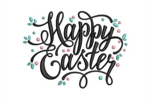 Happy Easter Easter Embroidery Design By NinoEmbroidery