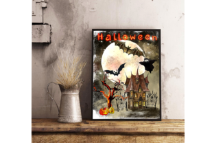 Print on Demand: Magic Clipart Watercolor,Witch Halloween Graphic Illustrations By Marine Universe 3