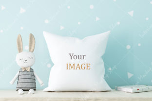 Pillow Mockup Background (jpg) - 255 Graphic Product Mockups By Mockups Shop