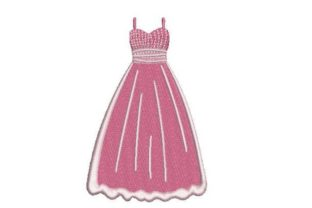 Prom Dress Clothing Embroidery Design By Embroidery Designs
