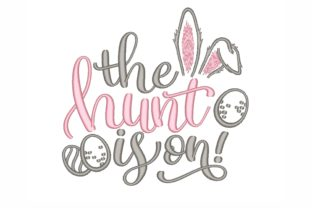 The Hunt is on Easter Embroidery Design By NinoEmbroidery