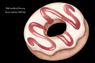 Print on Demand: Watercolor ClipArt - Christmas Bakery Graphic Illustrations By SirenaArt 4