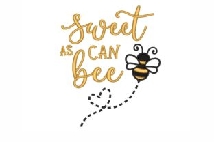 Bee Sweet Bugs & Insects Embroidery Design By SonyaEmbroideryStore