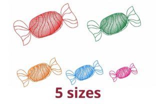 Candy Dessert & Sweets Embroidery Design By Beautiful Embroidery