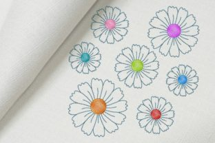 Daisies Bouquets & Bunches Embroidery Design By Beautiful Embroidery