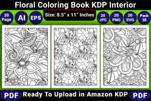 Print on Demand: Floral Coloring Bok KDP Interior Graphic Coloring Pages & Books Adults By KDP Coloring Book
