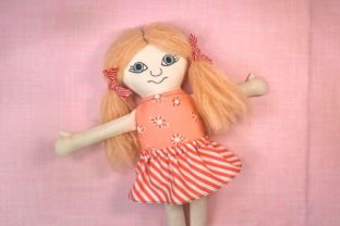 How to Sew a Rag Doll Classes By Ballyhoo Creations