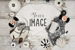 Spooky Halloween T-Shirt Fall Mockup Graphic Product Mockups By Mockup Central