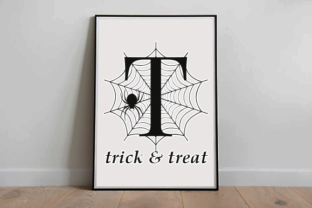 Print on Demand: Spooky Spider Monogram Decorative Font By fontbrand19 3
