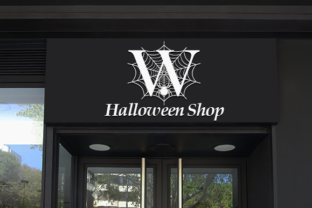 Print on Demand: Spooky Spider Monogram Decorative Font By fontbrand19 5
