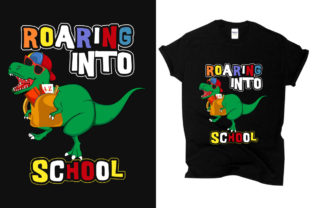 Print on Demand: Back to School - T-shirt Graphic Print Templates By T shirt store