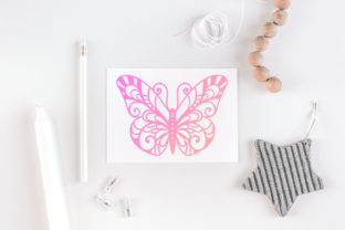Print on Demand: 60 Butterfly SVG Cut Files Graphic Crafts By tatiana.cociorva 5