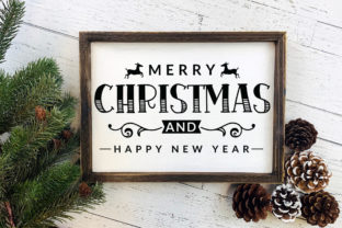 Farmhouse Christmas Sign SVG Mega Pack Graphic Crafts By CraftlabSVG 10