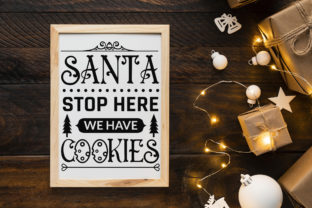 Farmhouse Christmas Sign SVG Mega Pack Graphic Crafts By CraftlabSVG 11