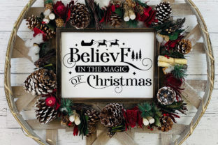 Farmhouse Christmas Sign SVG Mega Pack Graphic Crafts By CraftlabSVG 13