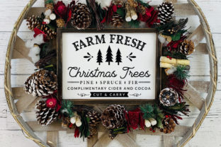 Farmhouse Christmas Sign SVG Mega Pack Graphic Crafts By CraftlabSVG 5