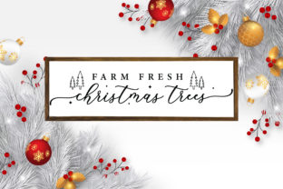 Farmhouse Christmas Sign SVG Mega Pack Graphic Crafts By CraftlabSVG 6