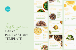 Print on Demand: Fresh Veggie Elegant Food Nutrition Fact Graphic Graphic Templates By peterdraw