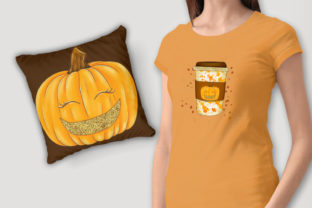 Print on Demand: Hello Fall CLIPART Autumn Clipart Graphic Illustrations By LerVik 4