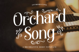 Print on Demand: Orchard Song Serif Font By TypeFactory