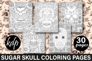 Sugar Skull Coloring Pages Graphic Coloring Pages & Books Adults By mi632883