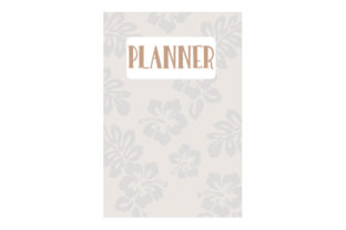 Tropical Flower Themed A5 Planner Planner Craft Cut File By Creative Fabrica Crafts