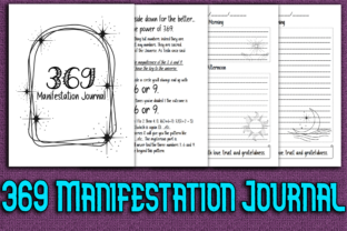 Print on Demand: 369 Manifestation Journal and Workbook Graphic KDP Interiors By Mary's Designs 1