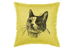 Cat Portrait Cats Embroidery Design By Beautiful Embroidery