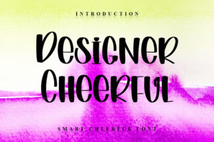 Print on Demand: Designer Cheerful Display Font By NYA Letter