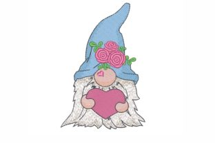 Valentine's Day Gnome Valentine's Day Embroidery Design By LizaEmbroidery