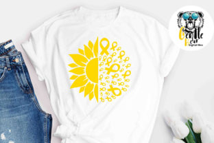 Print on Demand: CURE Childhood Cancer Awareness SVG Graphic Crafts By Gentlebear