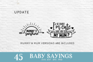 Baby Sayings Newborn Svg Bundle Graphic Crafts By peachycottoncandy 4