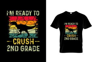 Print on Demand: Back to School T Shirt Design Graphic Print Templates By JantoManto