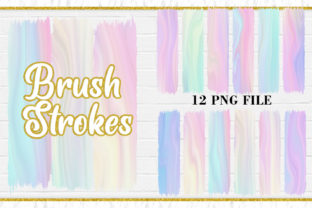 Brush Strokes Clipart, Sublimation Wave Graphic Illustrations By Artnoy