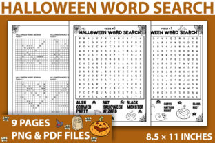 Print on Demand: Halloween Activity Pages - KDP Interior Graphic KDP Interiors By KDP INTERIOR DESIGN